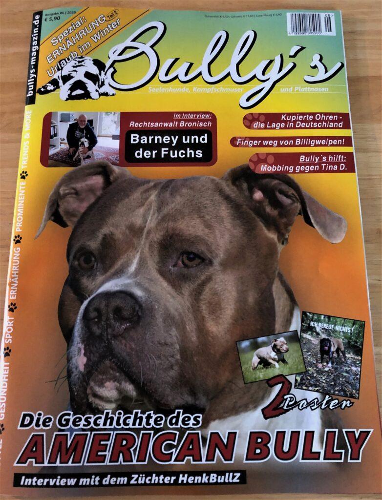 Die neue Bully's Oktober Ausgabe